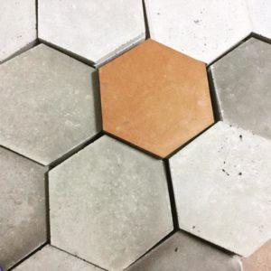MILKE płytka podłogowa HoneyFlat F