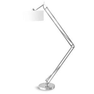 Lampa podłogowa It's About Romi MILANO, niklowana