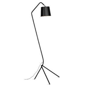 Lampa podłogowa It's About Romi BARCELONA, czarna 53X57X152 cm