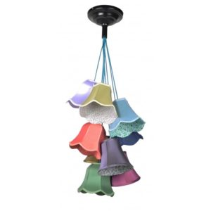Lampa wisząca ZUIVER Granny kolorowa