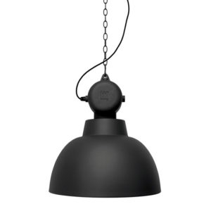 Lampa wisząca HK LIVING FACTORY L czarny mat