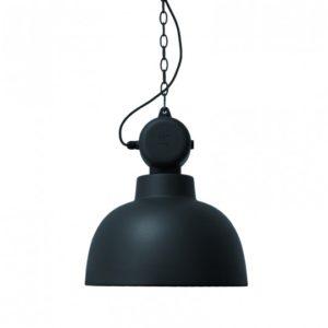 Lampa wisząca HK LIVING Factory czarny mat, rozmiar M