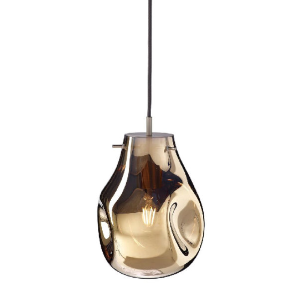 Lampa wisząca Soap Bomma złota mała