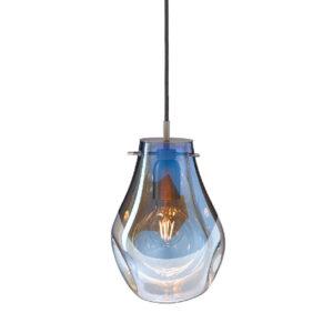 Lampa wisząca Soap Bomma niebieska mała
