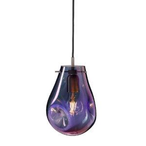 Lampa wisząca Soap Bomma fioletowa mała