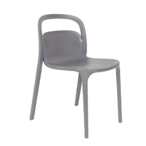 Krzesło White Label Living REX, niebieskie/białe/zielone/szare