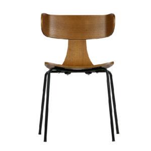 Krzesło Be Pure FORM, kolor brąz/naturalny