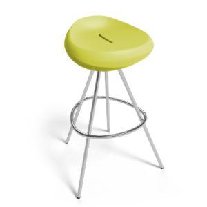 Krzesło LONC, Beaser 650, ze stali nierdzewnej, różne kolory