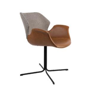Fotel NIKKI marki Zuiver (cztery wersje kolorystyczne)