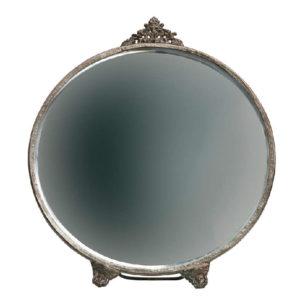 Lustro stojące Posh marki Be Pure, metalowe, okrągłe lub owalne