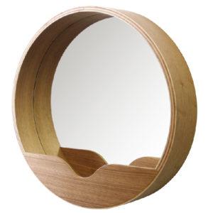 Lustro ścienne ROUND marki Zuiver, okrągłe