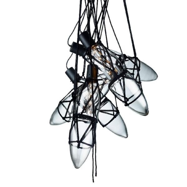 Lampa wisząca Shibari (pięć elementów), marki Bomma