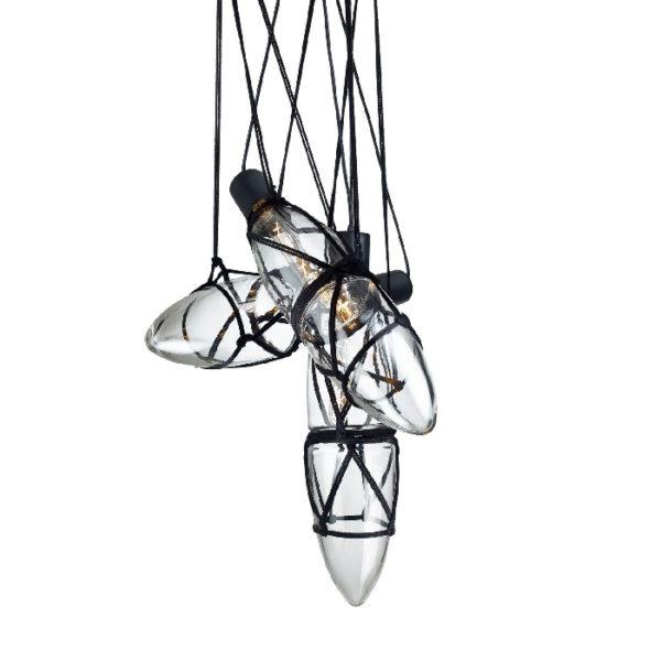 Lampa wisząca Shibari (trzy elementy), marki Bomma
