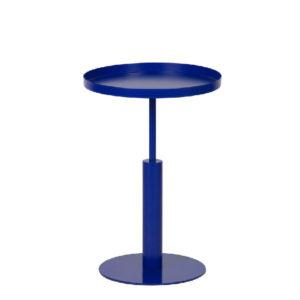 Stolik Silke metalowy niebieski, marki Woood